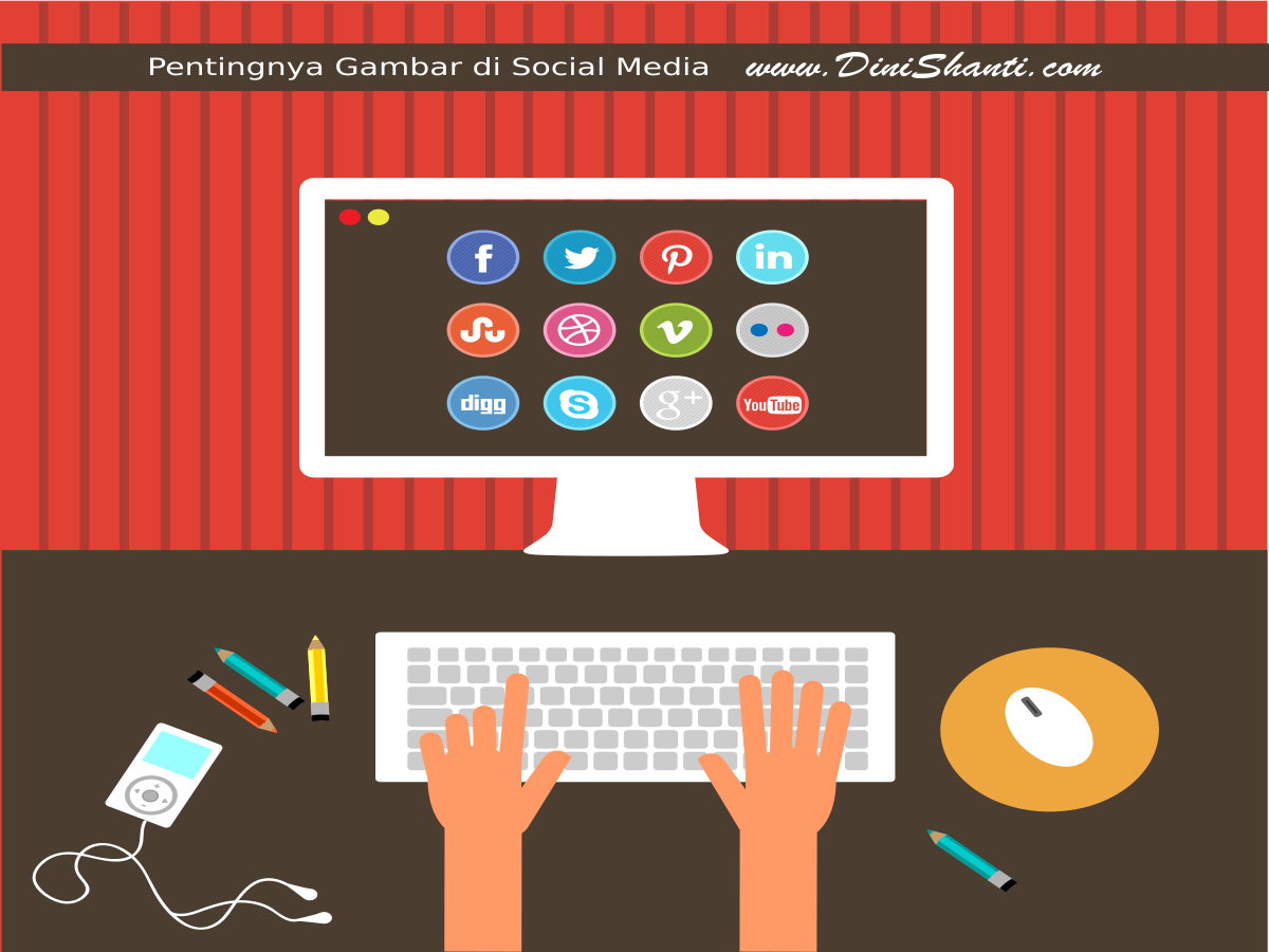 gambar, infografi, social media marketing