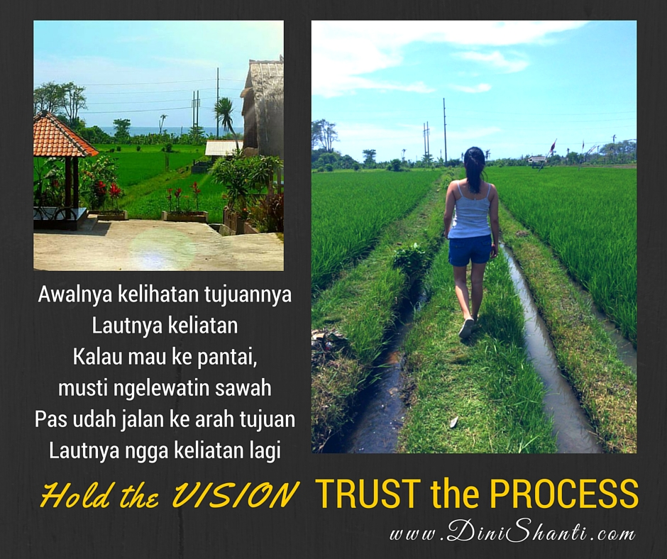 Cerita Inspirasi Menyusuri Sawah – Proses Menuju Tujuan
