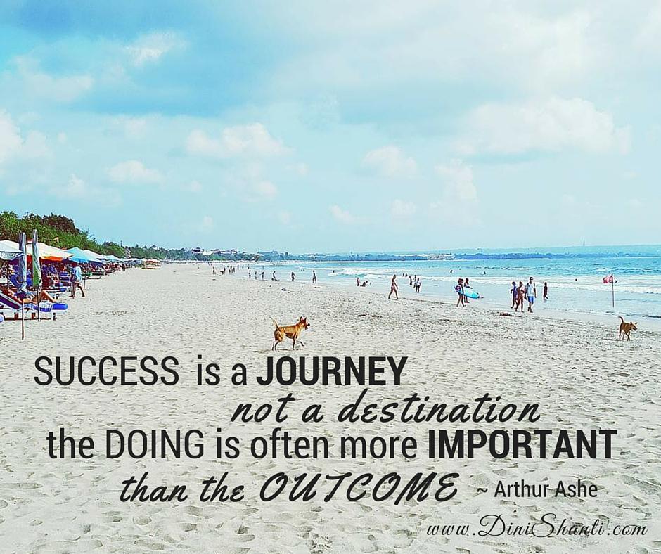 Sukses = Suka sama Proses